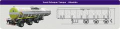 Semi Reboque Tanque - Alumínio