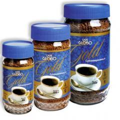 Café Instantâneo Granulado Globo Gold