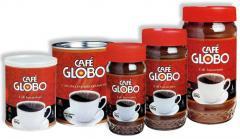 Café Globo - Café Instantâneo em Pó