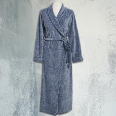 Robe Longo em Plush Onça