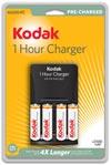 Recarregador Kodak Rápido K6200 + 4 baterias