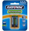 Bateria Recarregável AAA Rayovac 750MAH - Par