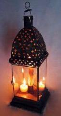 Lanterna Torre Árabe para vela