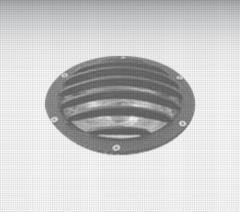 Luminaria embutido de piso em alumínio