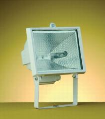 Refletor retangular 17,0 x 15,0 cm 1 luz branco