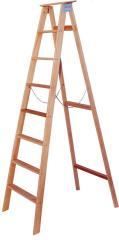 Escada Tesoura Simples de Madeira