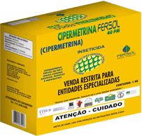 Cipermetrina 40 PM Classe: Inseticida