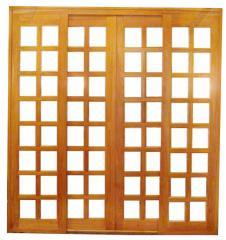 Portais de madeira