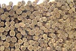 Estacas de madeira