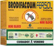 Brodifacoum Mini-Bloco Classe: Raticida de dose