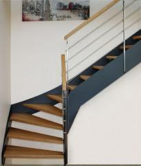 Escadas vergadas