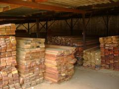 Vigamentos de madeira