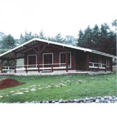 Casa em madeira 3 quartos