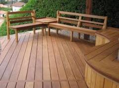 Decks em madeira