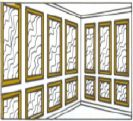 Painel mouldings