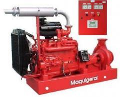 Motobomba Diesel para Combate a Incêndio