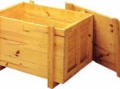 Caixa de madeira maciça em pinus