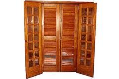 Porta veneziana/vidrinho abrir