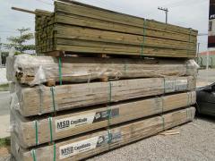 Viga Pinus Auto Clave -  MSD  Deck