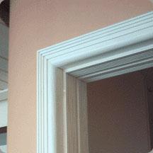 Batentes em madeira