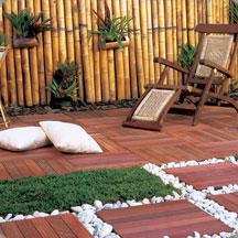 Decks para jardins
