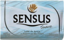 Sabonete Sensus Suave 150g Leite de Aveia e