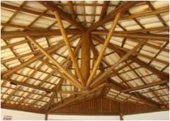 Telhados em madeira