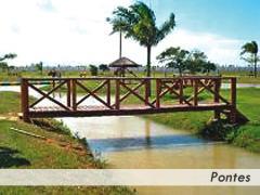 Pontes em madeira