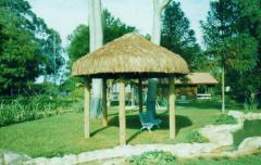 Pavilhao em madeira