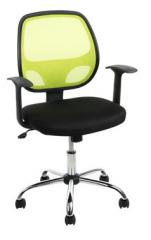 Cadeira Home Office Fusion c/ Encosto em Nylon e