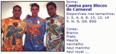 Camisas em Sublimaçao para Blocos de Carnaval