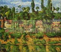 Cezanne - Chateau de Médan