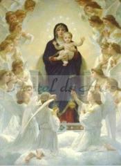 Bouguereau - A Virgem com Anjos
