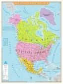 Mapa América do Norte Político