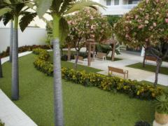 Maquete de jardim