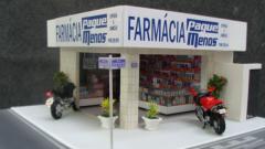 Maquete de farmacia