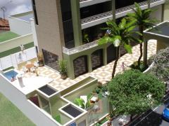 Maquete de desenvolvimento de cidade