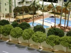 Maquete de hotel