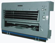 Prensa hidráulica automática termo-elétrica