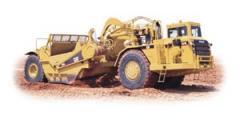 Trator-escrêiper de Rodas 631G