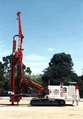 Máquinas para a execução de Estacas Injetadas e
