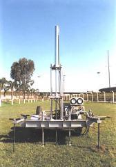 Penetrômetro hidráulico-eletrônico