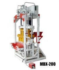 Máquina de Blocos MBX-200