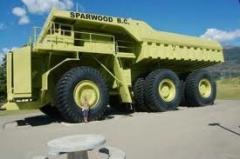Terex Titan caminhões