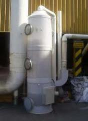 Lavadores de gases Turbulaire®