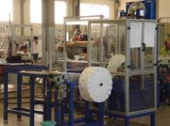 Máquina de lavagem e  oleamento de produtos