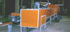 Machine for diapers production for patients