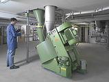 Misturador de granulação na indústria cerâmica
