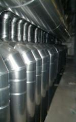 Dutos de aço galvanizado