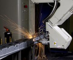 Maquiona de corte a laser Mitsubishi